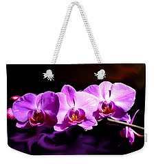 Weekender Tote Bag featuring the photograph Nature's Tiara by Hanne Lore Koehler