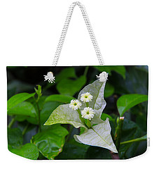 Nature's Triplets Weekender Tote Bag by Christopher L Thomley