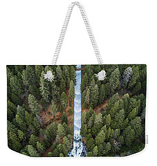 Natures Waterslide  Weekender Tote Bag by Alpha Wanderlust