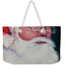 Naughty Or Nice ? Santa 2016 Weekender Tote Bag