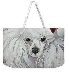 Naughty Or Nice Weekender Tote Bag