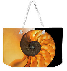 Weekender Tote Bag featuring the photograph Nautalis by Brian Jones