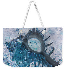 Weekender Tote Bag featuring the photograph Nautical Beach And Fish #13 by Debra and Dave Vanderlaan