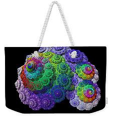 Nautical Love Spiral  Weekender Tote Bag