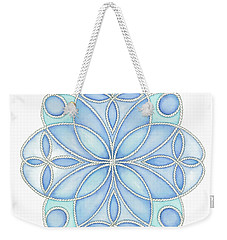 Nautical Mandala 4 Weekender Tote Bag