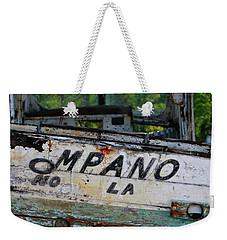 Nautical Miles Weekender Tote Bag by Lori Mellen-Pagliaro