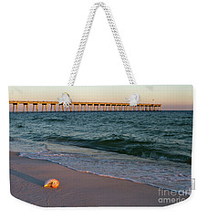 Nautilus And Pier Weekender Tote Bag