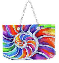 Nautilus Curves Weekender Tote Bag