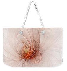 Nautilus In The Fractal Ether Weekender Tote Bag