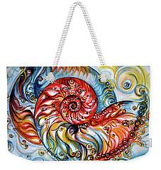 Nautilus Shell - Ocean Weekender Tote Bag