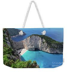 Navagio Beach Weekender Tote Bag