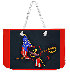 Weekender Tote Bag featuring the tapestry - textile Naval Art Design by Joan Hartenstein