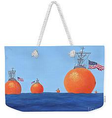 Naval Oranges Weekender Tote Bag