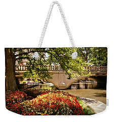 Navarro Street Bridge Weekender Tote Bag by Steven Sparks
