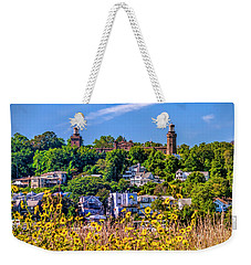 Navesink Light On The Hill Weekender Tote Bag