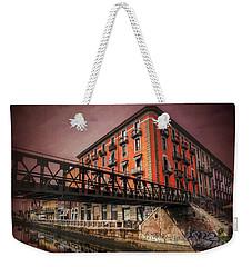 Naviglio Grande Milan Italy Weekender Tote Bag by Carol Japp