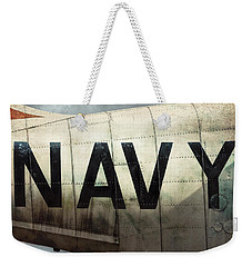 Navy - Kaman K-16b Experimental Aircraft Weekender Tote Bag
