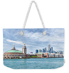Navy Pier - Chicago Weekender Tote Bag