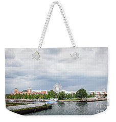 Navy Pier In Chicago Weekender Tote Bag