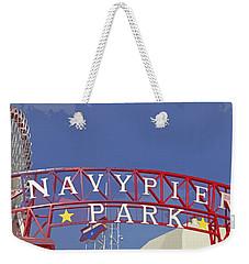 Navy Pier Weekender Tote Bag