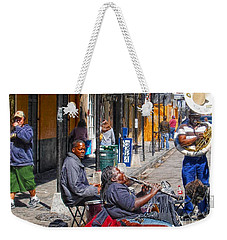 Weekender Tote Bag featuring the photograph Nawlins by John Kolenberg