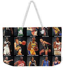 Nba Legends Weekender Tote Bag