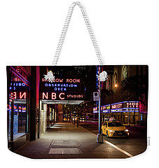 Nbc Studios And Cab  Weekender Tote Bag