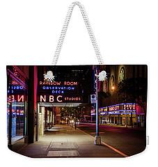 Nbc Studios Nyc  Weekender Tote Bag