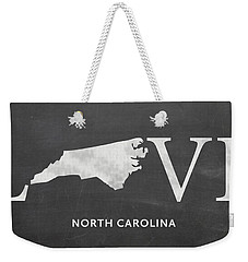 Nc Love Weekender Tote Bag by Nancy Ingersoll