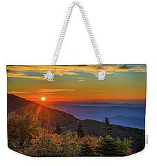 Nc Mountain Sunrise Blue Ridge Mountains Weekender Tote Bag