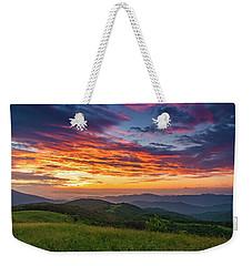 Nc Mts Sunrise Weekender Tote Bag