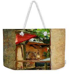 Neapolitan Weekender Tote Bag