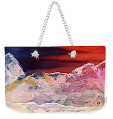 Near Arrow Mountains Weekender Tote Bag