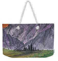 Near Canyon Entrance Weekender Tote Bag by R Kyllo