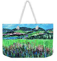 Near Cooperstown Weekender Tote Bag by Betty Pieper