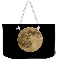 Near Full Moon, Strawberry Moon Weekender Tote Bag