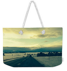 Weekender Tote Bag featuring the photograph Near Hartsel by Christin Brodie