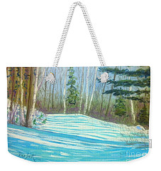 Near Hubbards Weekender Tote Bag by Rae  Smith  PAC