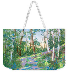 Near The Dingle Tower Halifax  Weekender Tote Bag by Rae  Smith