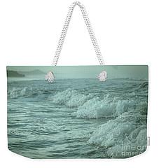 Near Waves Weekender Tote Bag by Iris Greenwell