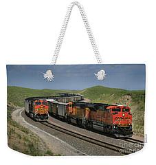 Nebraska Coal Trains Weekender Tote Bag