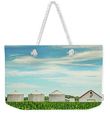 Nebraska Corn Weekender Tote Bag