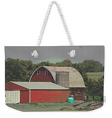 Nebraska Farm Life - The Family Farm Weekender Tote Bag