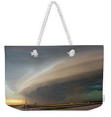 Nebraska Thunderstorm Eye Candy 026 Weekender Tote Bag