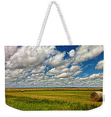 Nebraska Wheat Fields Weekender Tote Bag