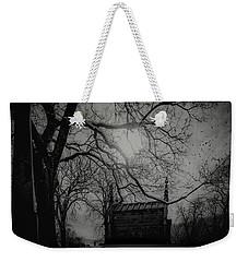 Weekender Tote Bag featuring the digital art Necropolis Nine by Chris Lord