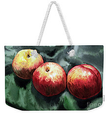 Nectarines Weekender Tote Bag by Joey Agbayani
