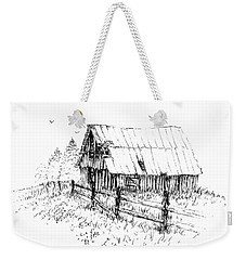 Need A Little Roof Repair Weekender Tote Bag