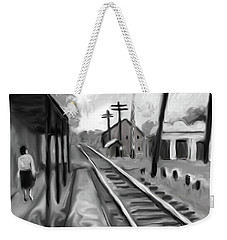 Needham Train Station 1959 Weekender Tote Bag