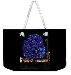 Needham's Blue Tree Weekender Tote Bag
